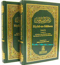 Riyad us Saliheen Arabic / English (2 Volume Set) Royal Mail RECORDED POST