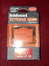 Hahnel Extreme HLX-E8 7.2v 1200mAh Replacement Rechargeable Canon LP-E8 Li-Ion B