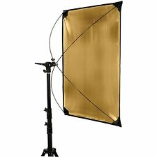 PhotoSEL RFP9X18GS 90x180cm Silver / Gold Studio Panel Reflector Light Lighting