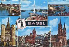 Alte Postkarte - Basel mit Dreispitz