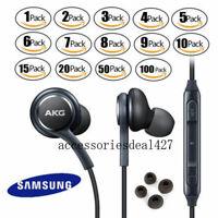 Orginal Genuine Samsung OEM AKG Stereo Headphones Earphones In Ear Earbuds Lot