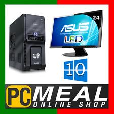 "INTEL Core i7 7700 3.6GHz DESKTOP COMPUTER 1TB 8GB 24"" LED Win 10 HDMI GAMING PC"