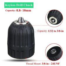 3/8 in 24 Keyless Trapano Mandrino Drill Chuck Adattatore Connettore Per Dremel