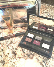 NEW SMASHBOX Smoke & Mirrors Gift Set Eye Shadow Palette Gloss Case Liner Brush