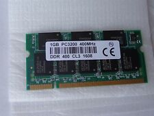 Nuova 1GB DDR400-MHZ MEMORIA RAM SODIMM Notebook PC3200S PC3200 Laptop 2700s 333