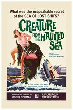 """VINTAGE - CREATURE FROM THE HAUNTED SEA MOVIE POSTER 12"""" X 18"""""""