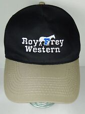 Vintage 1990s ROY FREY WESTERN TOPEKA KANSAS Advertising SNAPBACK HAT OTTO CAP