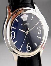 Versace Medusa Mens Bond Street Blue Dial Swiss Quartz Watch OLQ99D009 S008