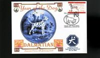 YEAR OF THE DOG STAMP ILLUSTRATED SOUVENIR COVER, DALMATIAN 3