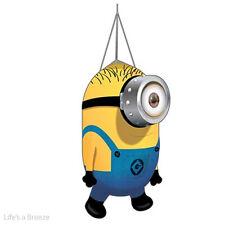 Despicable Me Minion Windsocks. Karl. Telescopic Flag Pole or Garden Use.