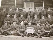 vero fotografia 37 FLT Bridgnorth RAF CAPANNO 316 firmata sul retro