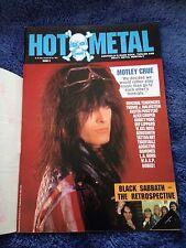 HOT METAL - Issue 9 - Australian Heavy Metal Magazine 1989