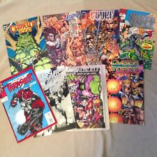 Lot of 8 Comic Books ~ Cyber Force Magnus Crypt Lobo Wild Cats Camelot Thrasher