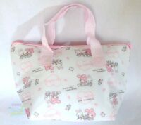 SANRIO KAWAII  My Melody & White Rabbit Carrier Bag Aluminum Keep Warm & Cold