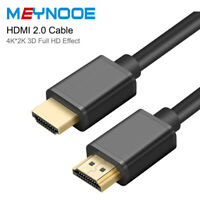 Ultra HD HDMI Cable V2.0 High Speed 2160P 4K 3D HDTV Gold Plated 3FT 6FT 10FT