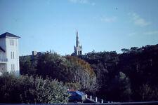 Vintage Kodak Kodachrome Negative Slide Image - Church Building, Trees, 1970's