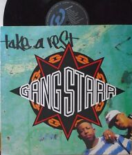 "GANG STARR ~ Take A Rest ~ 12"" Single PS"