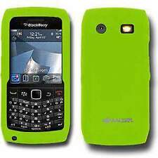 AMZER Green Silicone Skin Jelly fit Case Cover for Blackberry Pearl 9105