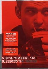 DVD Justin Timberlake Justified The Videos RARE Footage Plus Bonus D1