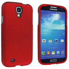 Red Snap-On Hard Case Cover for Samsung Galaxy S4