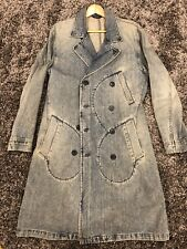 DKNY MENS DOUBLE BREASTED  JEANS COAT , Size S
