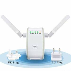 Ripetitore Segnale WIFI Wireless 2 Antenne 300 Mbps Amplificatore Extender Unive