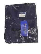 B.I.C.Medical Uniforms Size Xs Dark Blue Nursing Scrub 2 Piece Outfit Unisex New