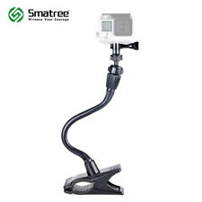 Smatree Flexible Camera Clamp Mount For GoPro Hero Fusion,7,6,5,4,3+/Webcam C920