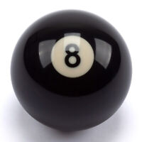 "2-1/4"" AAA Grade Regulation Size Billiard Black #8 Replacement Pool Ball"