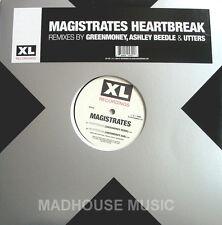 "MAGISTRATES 12"" Heartbreak 4 Trk REMIXES +Sheet 500 ONLY!"