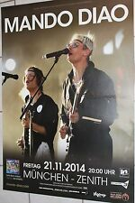 Mando Diao - Tourposter/Tourplakat 2014 - München