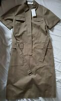 Womens Utility Military Boiler Suit Style Hugo Boss Dress With Belt