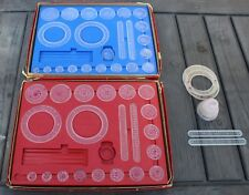 2 Vintage Kenner SPIROGRAPH Drawing Sets Toy  + Extra Gears