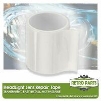 Headlight Lens Repair Tape for Mercedes.  Front Clear Light Lamp MOT Fix