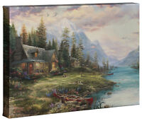 Thomas Kinkade Studios Choice of 3 Father's Day 10 x 14 Gallery Wrapped Canvases