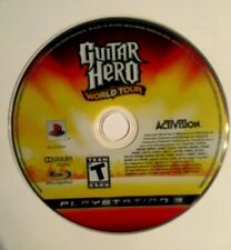 PS3 Guitar Hero World Tour Playstation 3 Video Games Music Rock