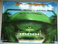 Thunderbirds Original quad movie cinema film Promo poster Teaser