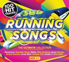 RUNNING SONGS - AVICII, ARIANA GRANDE, DISCLOSURE, ELLIE GOLDING  5 CD NEUF