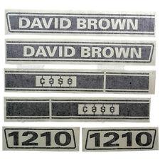 New David Brown 1210 Selectamatic Hood Decal Set