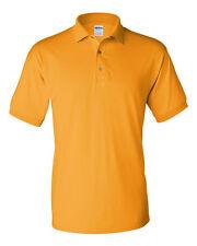 Gildan Mens DryBlend Jersey Polo Sport Shirt 50/50 Tee S-3XL 8800 - G880