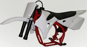 King Cobra CX 50 SR White Plastic Kit 2010 - 2012 50cc Motorcycle