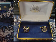 Pair of  presidential Air Force One cufflinks - no signature