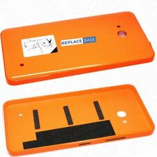 For Microsoft Lumia 640 Replacement Battery Cover Shell Rear Gloss Orange - OEM