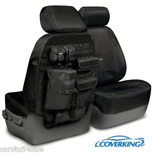 Coverking CORDURA BALLISTIC Tactical Seat Covers fits 2003 to 2007 Hummer H2 SUV