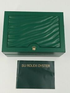 ROLEX EMPTY WATCH BOX REF. 39139.64 ORIGINAL ROLEX OYSTER  BROCHURE 2008