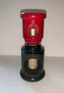 Twergi Alessi Red and Black Wooden Manual Nut Cracker