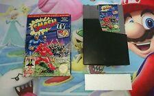 Caja + Cartucho Juego Smash TV Nintendo Nes Versión Pal B España 100% Original