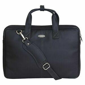 Urban Hyper 15.6 Inch Leather Shoulder Sling Laptop Messenger Bag For Unisex