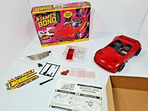 Rare James Bond Jr Sports Car 1991 Hasbro Complete EUC Mint in Box MIB