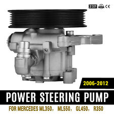 New For Mercedes-Benz ML350 ML550 GL450 R350 Power Steering Pump Front Top Local